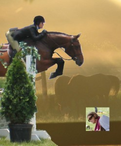 What the judge is looking for in the hunter ring, hunter judge, Laura Kelland-May, Thistle Ridge Stables