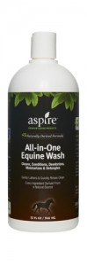 aspire horse products, natural horse shampoo, horse product review, Thistle Ridge Reviews